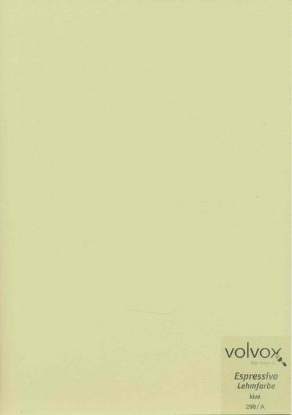 Volvox Espressivo Lehmfarbe - kiwi