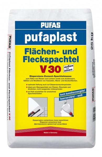 pufaplast Flächen- und Fleckspachtel V30 ultra