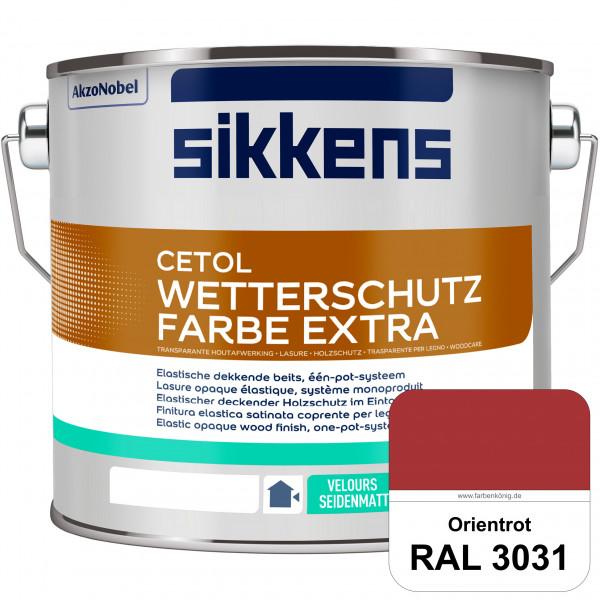 Cetol Wetterschutzfarbe Extra (RAL 3031 Orientrot)