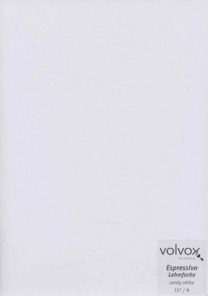 Volvox Espressivo Lehmfarbe - candy white