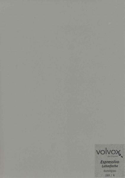 Volvox Espressivo Lehmfarbe - dunstgrau