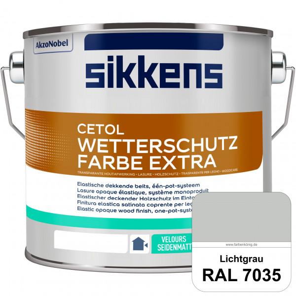 Cetol Wetterschutzfarbe Extra (RAL 7035 Lichtgrau)