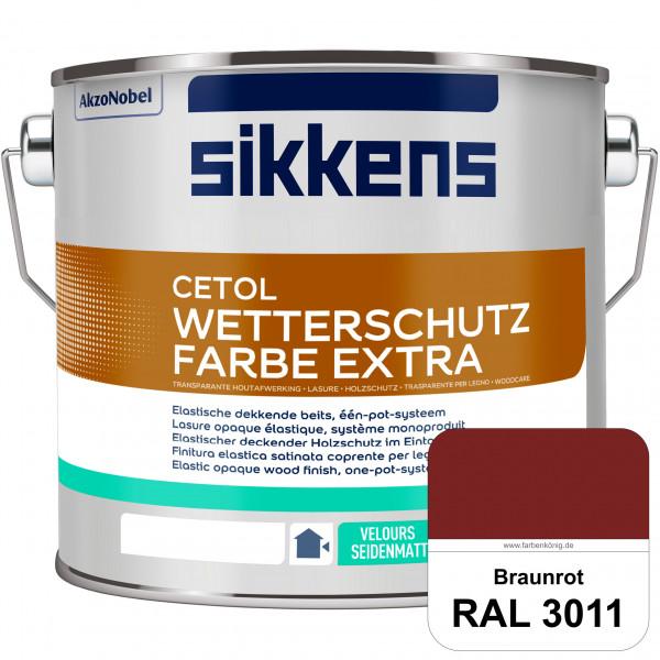 Cetol Wetterschutzfarbe Extra (RAL 3011 Braunrot)