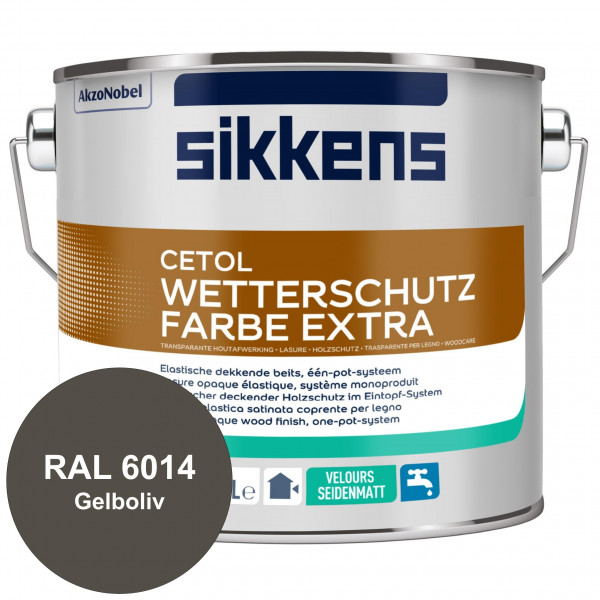Cetol Wetterschutzfarbe Extra (RAL 6014 Gelboliv)