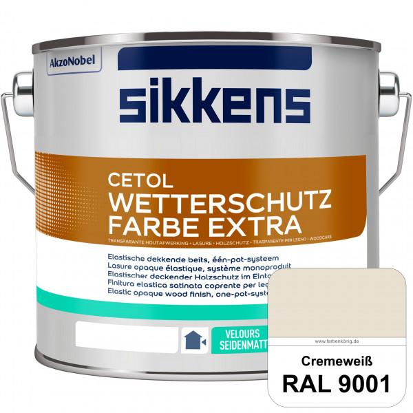 Cetol Wetterschutzfarbe Extra (RAL 9001 Cremeweiß)