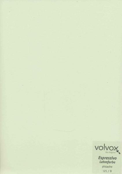 Volvox Espressivo Lehmfarbe - pistache