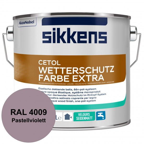Cetol Wetterschutzfarbe Extra (RAL 4009 Pastellviolett)