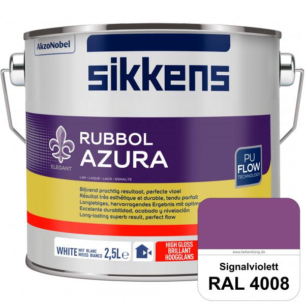 Rubbol Azura (RAL 4008 Signalviolett) hochglänzender Lack (löselmittelhaltig) innen & außen