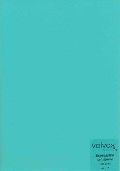 Volvox Espressivo Lehmfarbe - turquoise