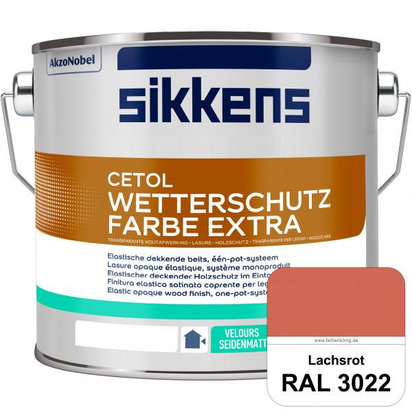 Cetol Wetterschutzfarbe Extra (RAL 3022 Lachsrot)