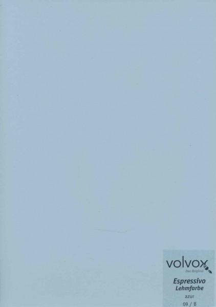 Volvox Espressivo Lehmfarbe - azur