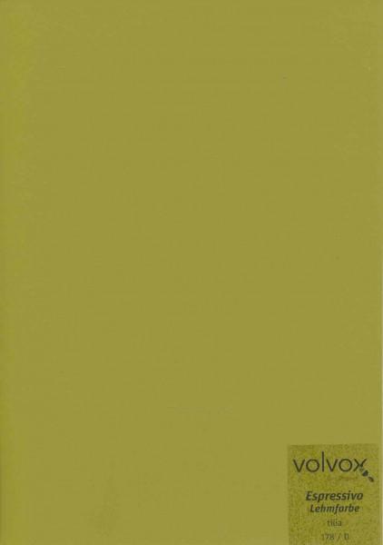 Volvox Espressivo Lehmfarbe - tilia