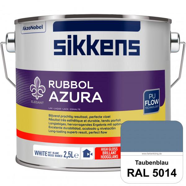 Rubbol Azura (RAL 5014 Taubenblau) hochglänzender Lack (löselmittelhaltig) innen & außen