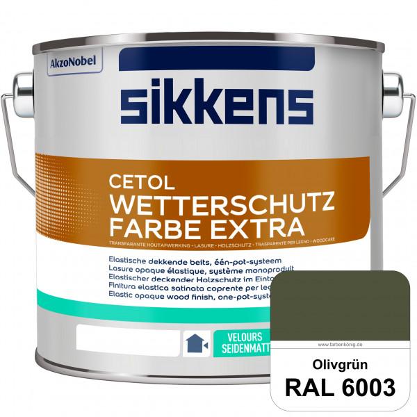 Cetol Wetterschutzfarbe Extra (RAL 6003 Olivgrün)