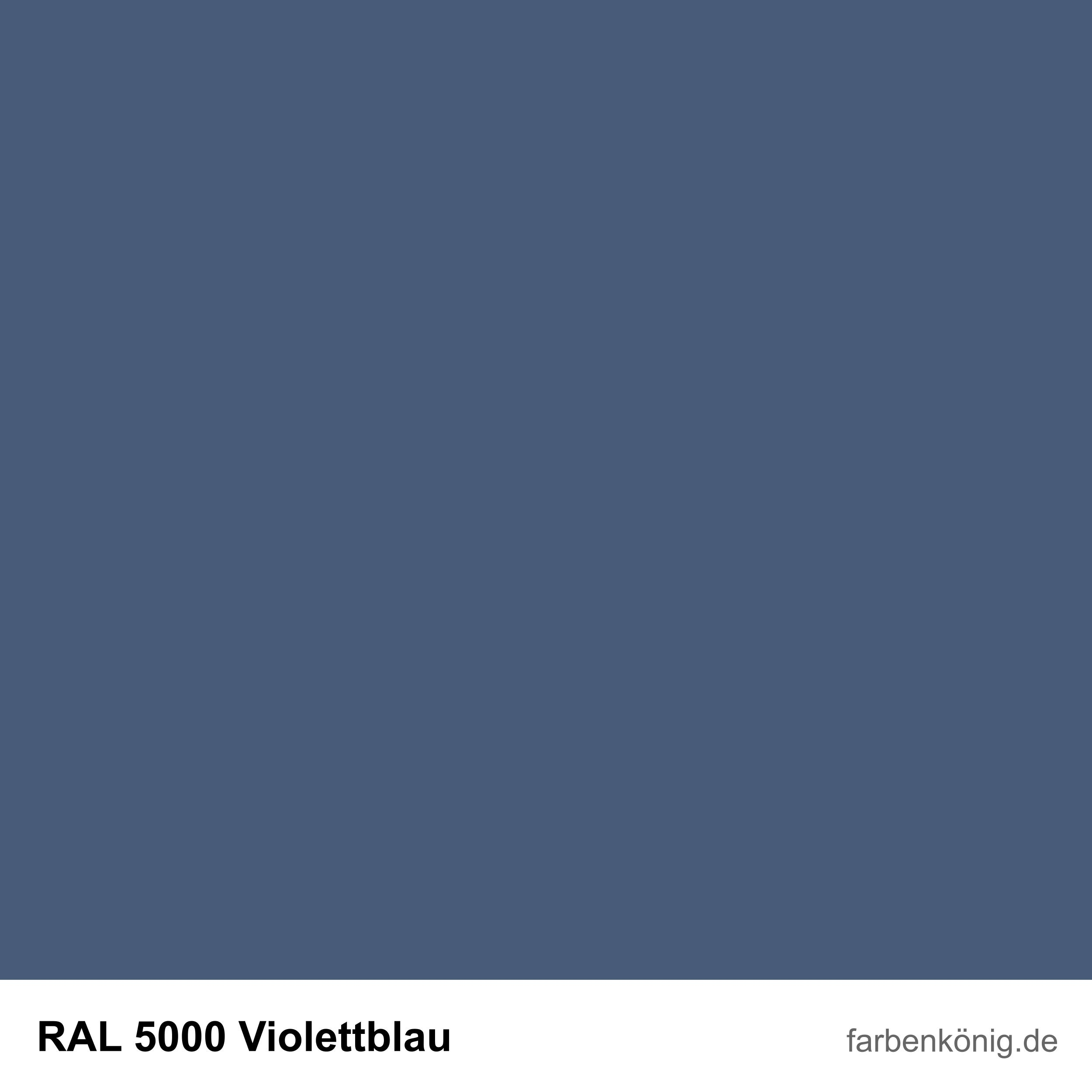 RAL5000