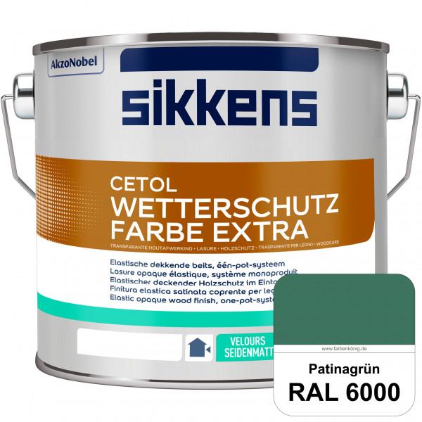 Cetol Wetterschutzfarbe Extra (RAL 6000 Patinagrün)