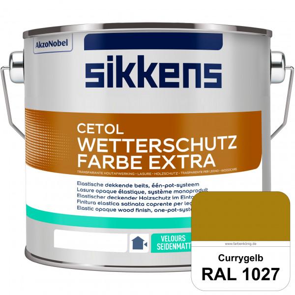 Cetol Wetterschutzfarbe Extra (RAL 1027 Currygelb)