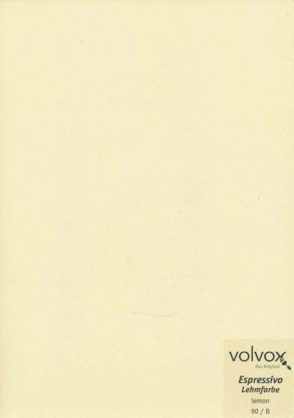 Volvox Espressivo Lehmfarbe - lemon