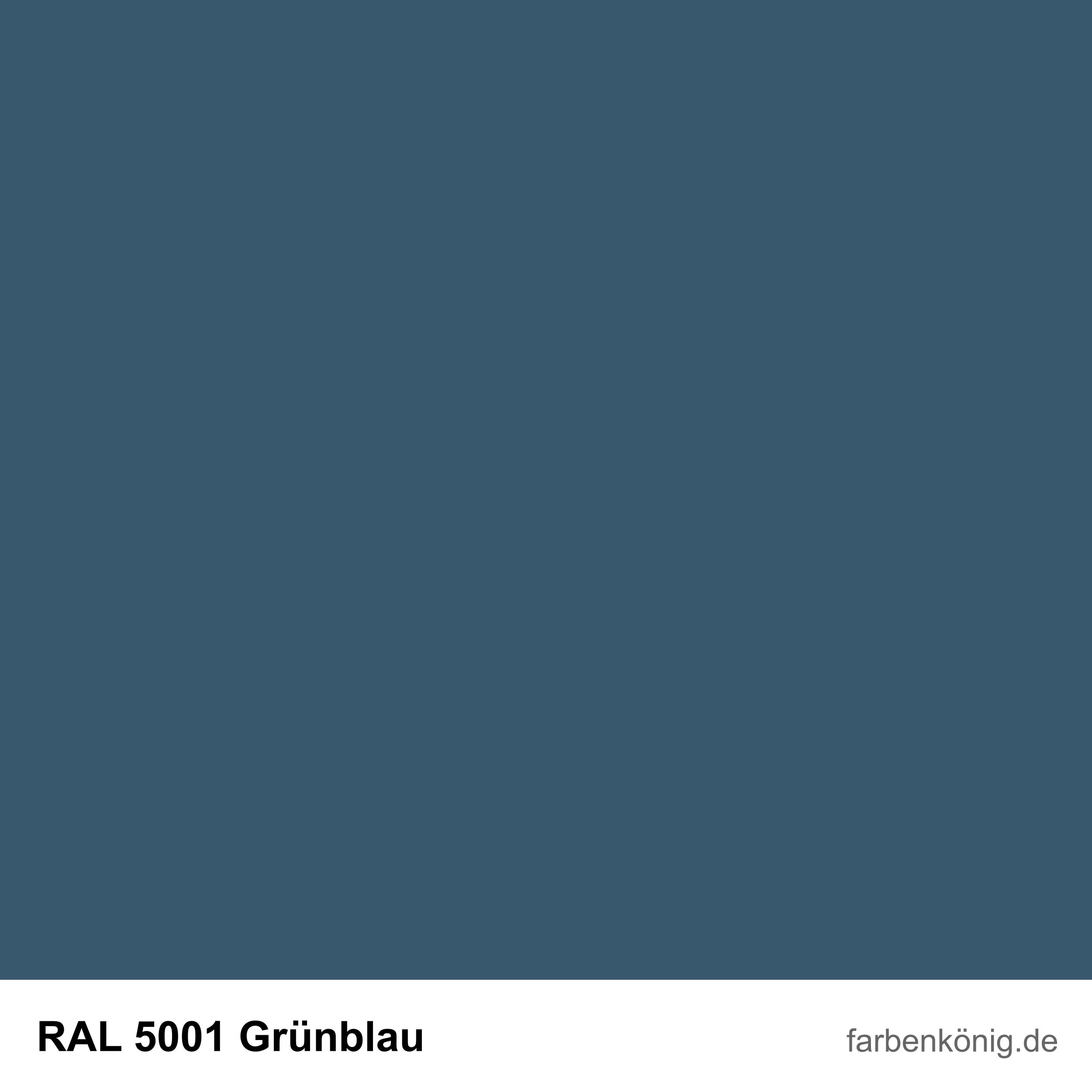 RAL5001