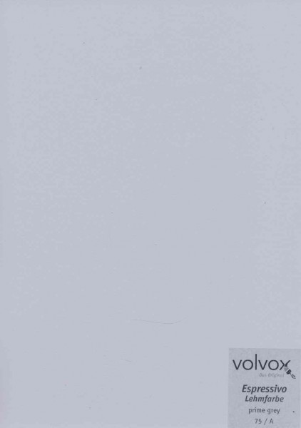 Volvox Espressivo Lehmfarbe - prime grey