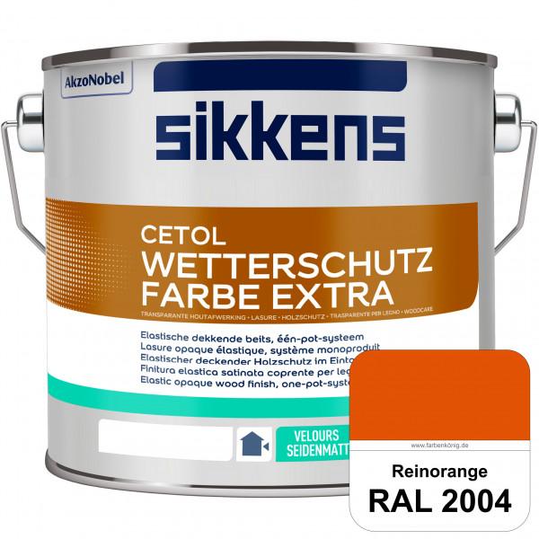 Cetol Wetterschutzfarbe Extra (RAL 2004 Reinorange)