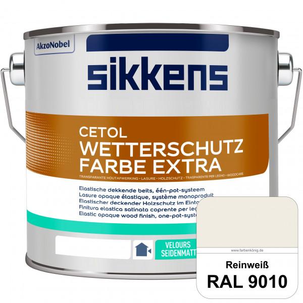 Cetol Wetterschutzfarbe Extra (RAL 9010 Reinweiß)