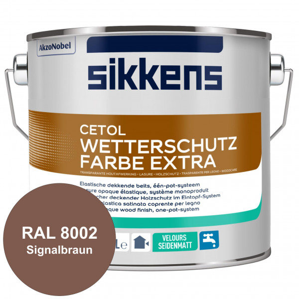 Cetol Wetterschutzfarbe Extra (RAL 8002 Signalbraun)