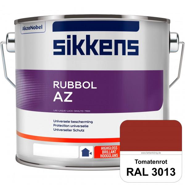 Rubbol AZ (RAL 3013 Tomatenrot) Hochwertiger, universeller Hochglanzlack (lösemittelhaltig) außen