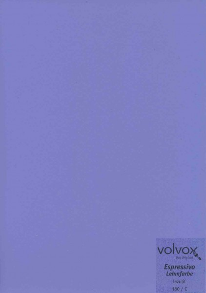 Volvox Espressivo Lehmfarbe - lazulit