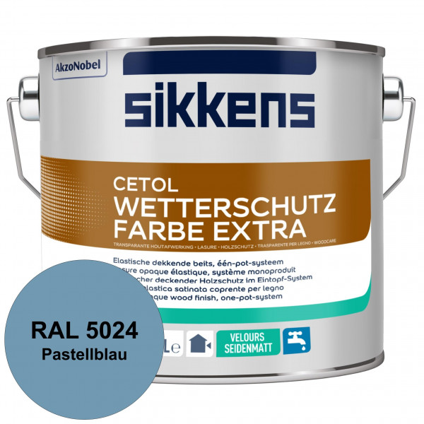 Cetol Wetterschutzfarbe Extra (RAL 5024 Pastellblau)