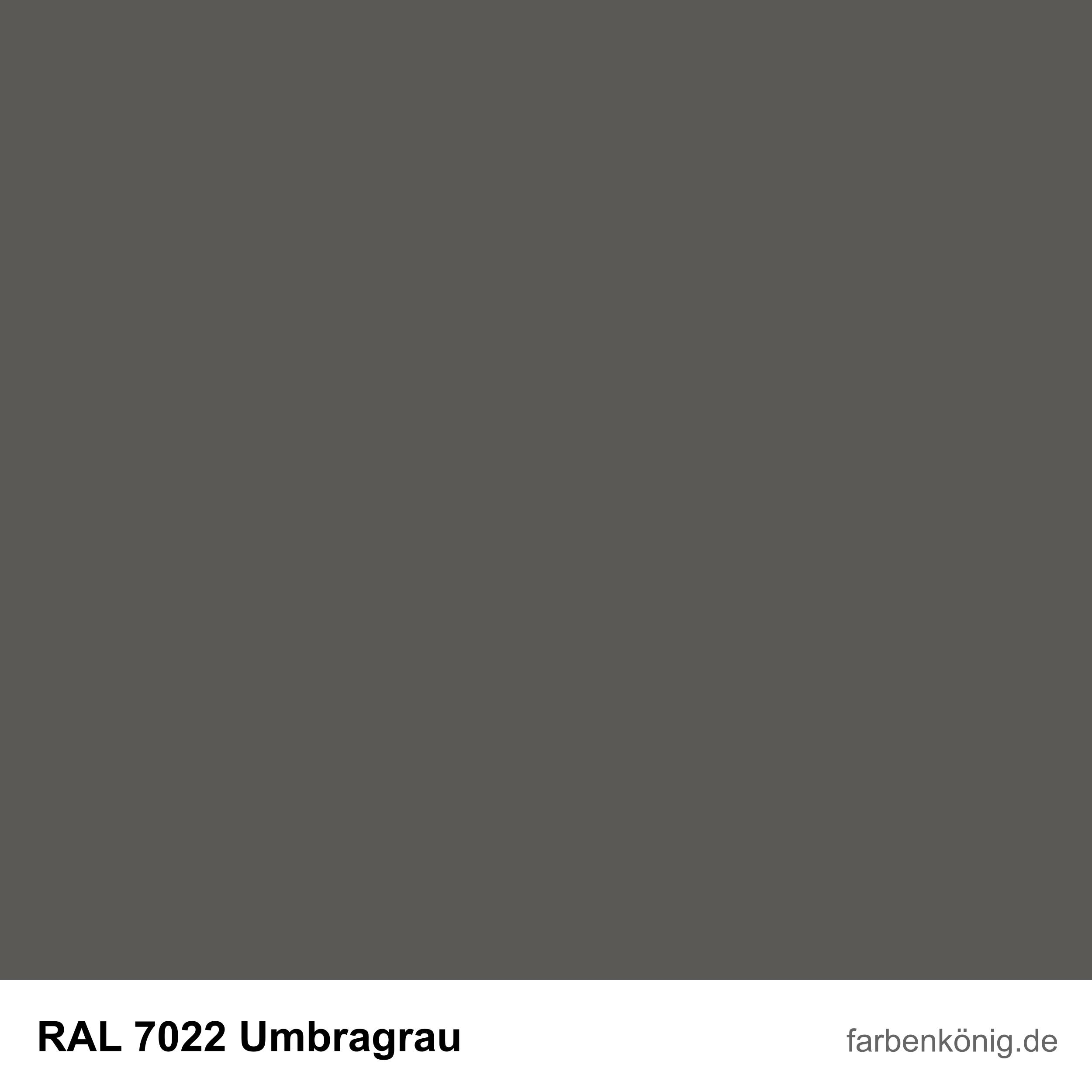RAL7022
