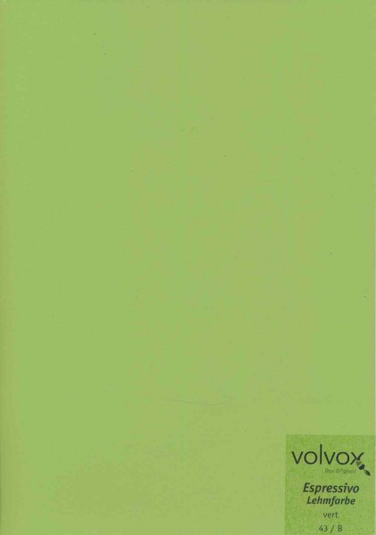 Volvox Espressivo Lehmfarbe - vert