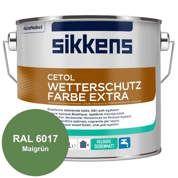 Cetol Wetterschutzfarbe Extra (RAL 6017 Maigrün)