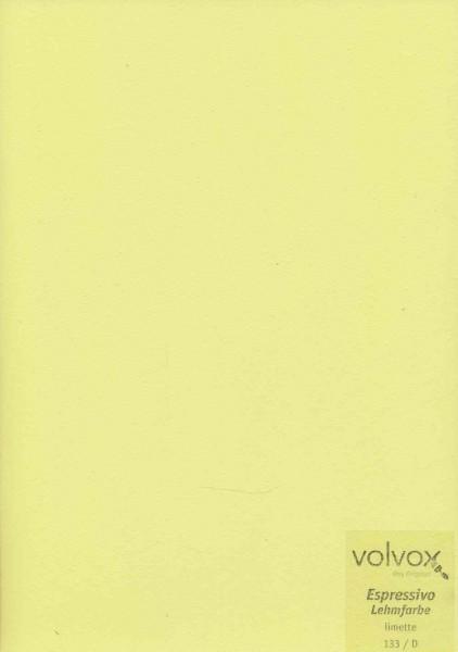 Volvox Espressivo Lehmfarbe - limette