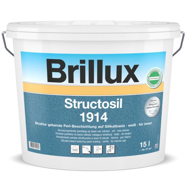 Structosil 1914 Silikat-Innenfarbe