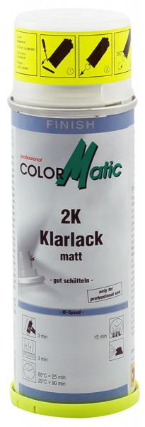 2K HI-Speed Klarlack matt