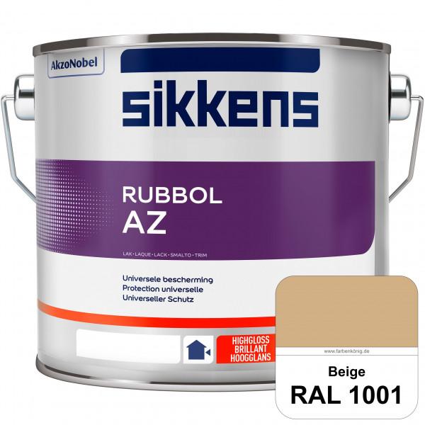 Rubbol AZ (RAL 1001 Beige) Hochwertiger, universeller Hochglanzlack (lösemittelhaltig) außen