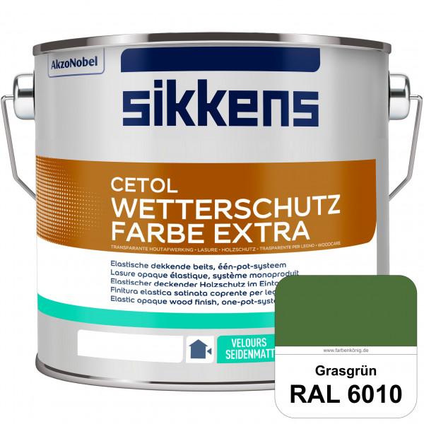 Cetol Wetterschutzfarbe Extra (RAL 6010 Grasgrün)