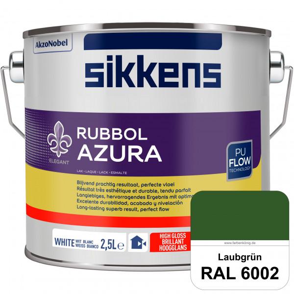 Rubbol Azura (RAL 6002 Laubgrün) hochglänzender Lack (löselmittelhaltig) innen & außen
