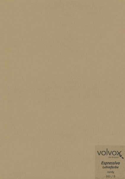 Volvox Espressivo Lehmfarbe - candy