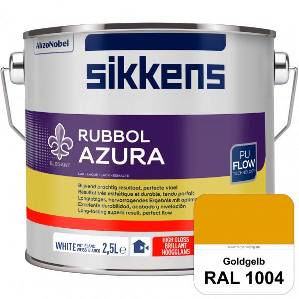 Rubbol Azura (RAL 1004 Goldgelb) hochglänzender Lack (löselmittelhaltig) innen & außen