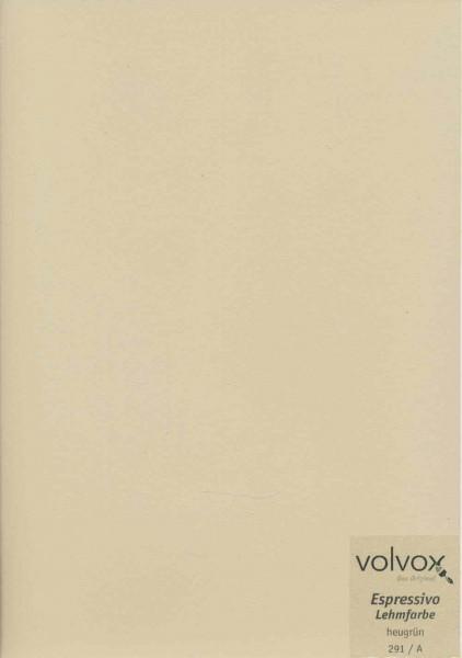 Volvox Espressivo Lehmfarbe - heugrün