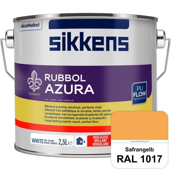 Rubbol Azura (RAL 1017 Safrangelb) hochglänzender Lack (löselmittelhaltig) innen & außen