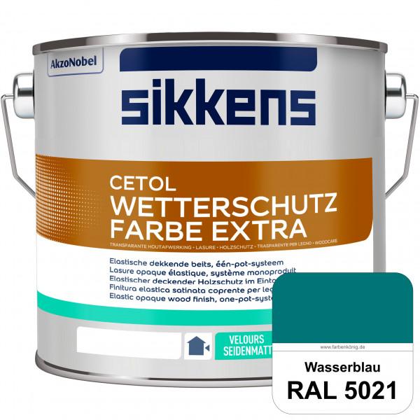 Cetol Wetterschutzfarbe Extra (RAL 5021 Wasserblau)