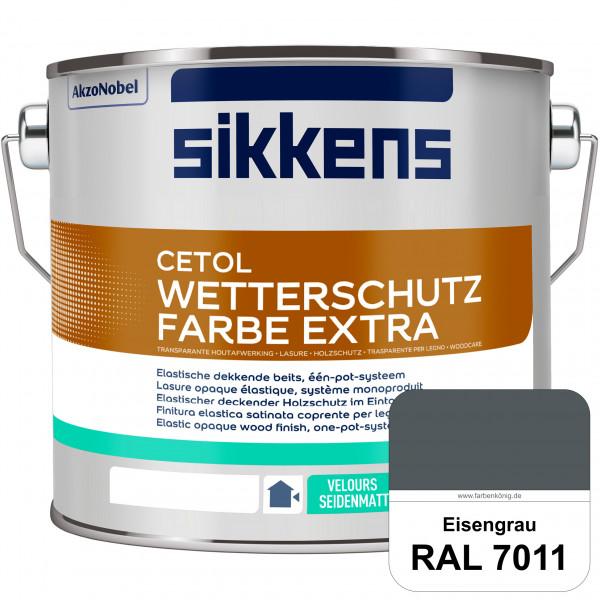 Cetol Wetterschutzfarbe Extra (RAL 7011 Eisengrau)