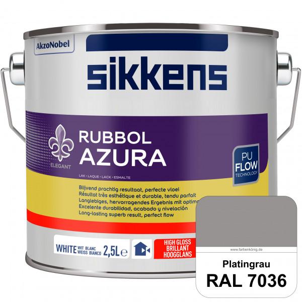 Rubbol Azura (RAL 7036 Platingrau) hochglänzender Lack (löselmittelhaltig) innen & außen