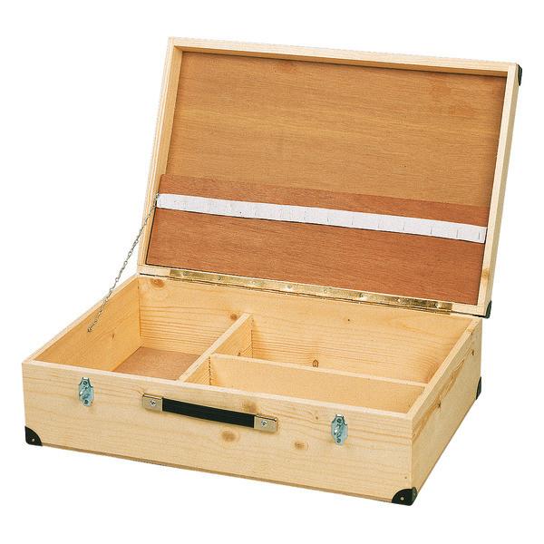 Holz-Werkzeugkoffer 59 x 39 x 17 cm