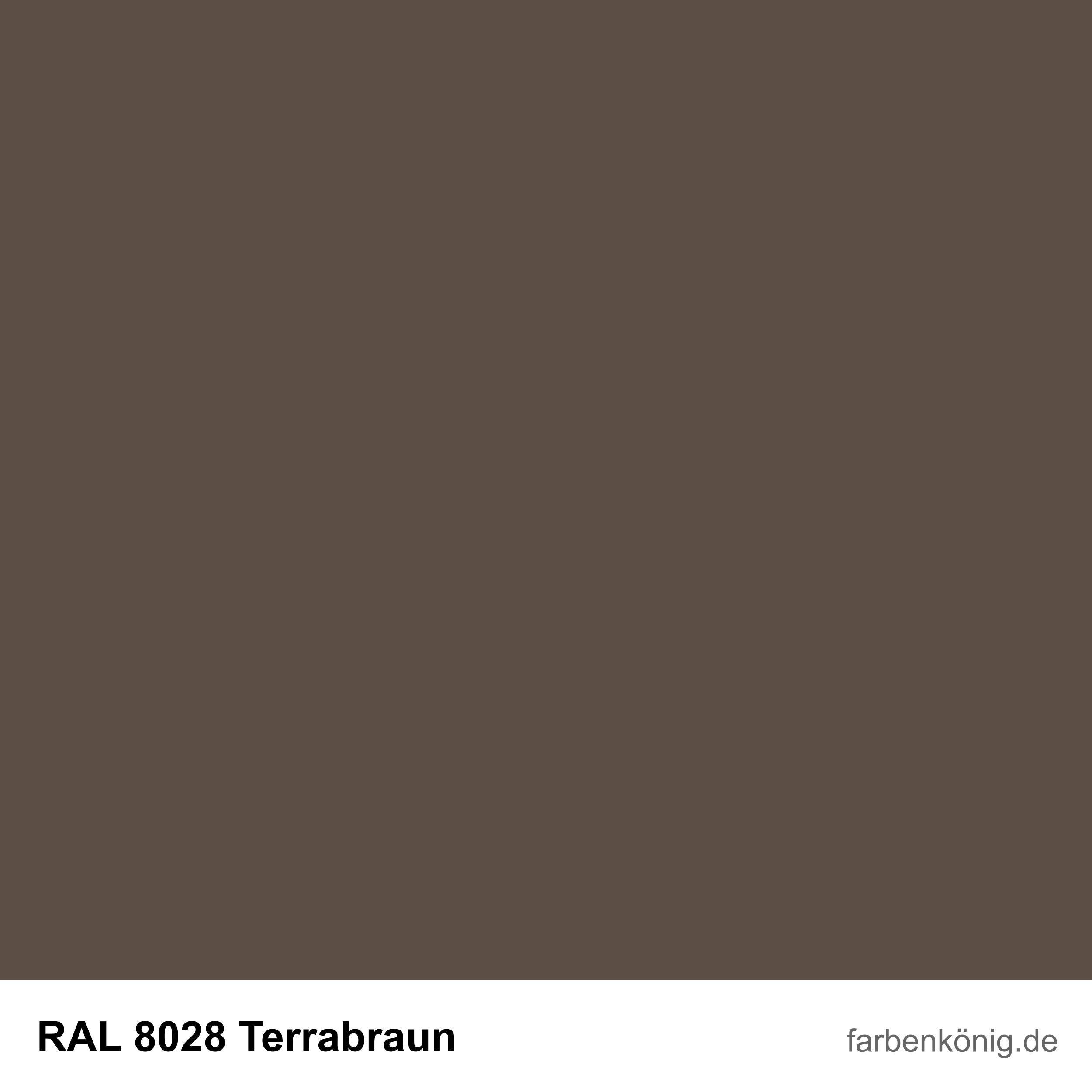 RAL8028