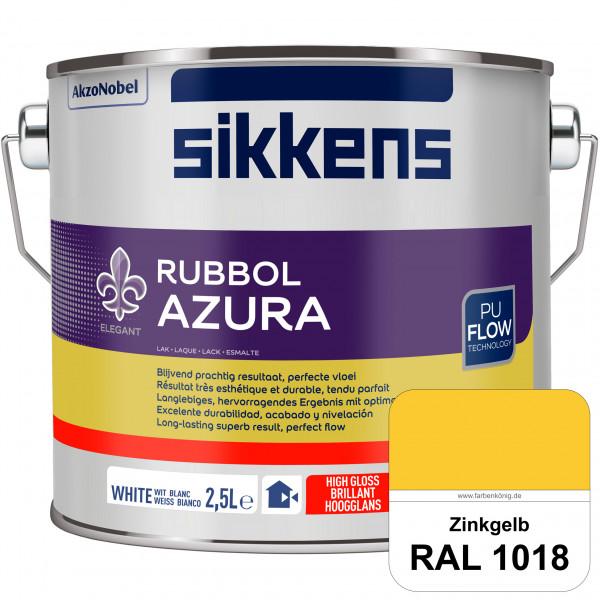 Rubbol Azura (RAL 1018 Zinkgelb) hochglänzender Lack (löselmittelhaltig) innen & außen