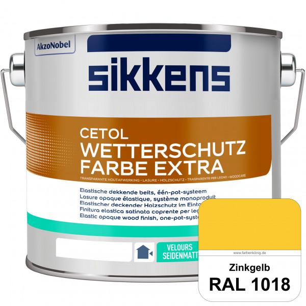 Cetol Wetterschutzfarbe Extra (RAL 1018 Zinkgelb)